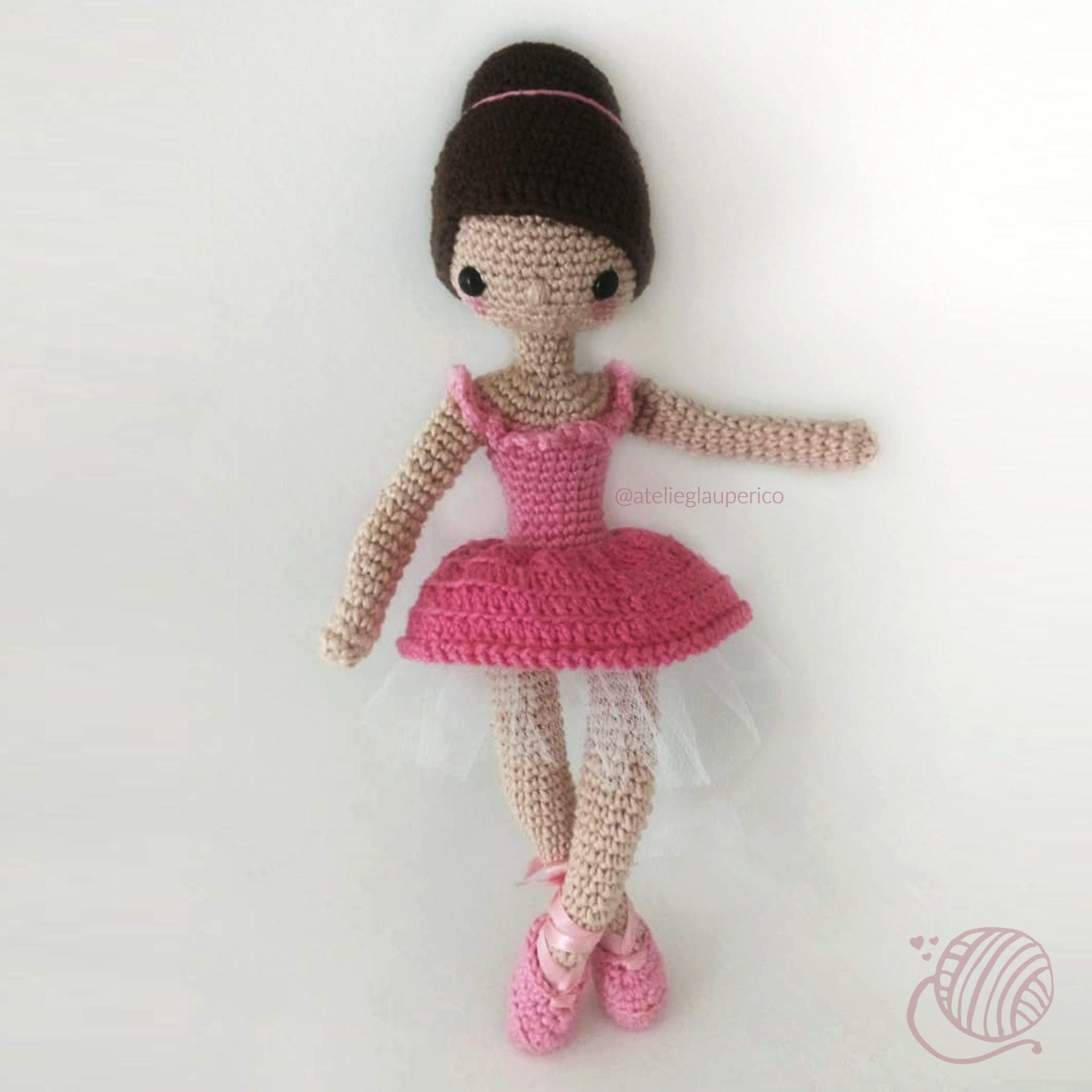 Leve Junto! 4 Kits Amigurumi Coleção Bailarinas - Círculo - R$ 135 ... | 2560x2560